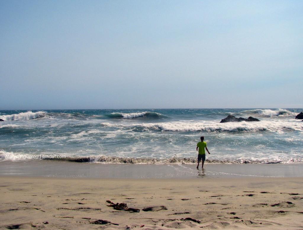 Pfeiffer Beach chasing waves
