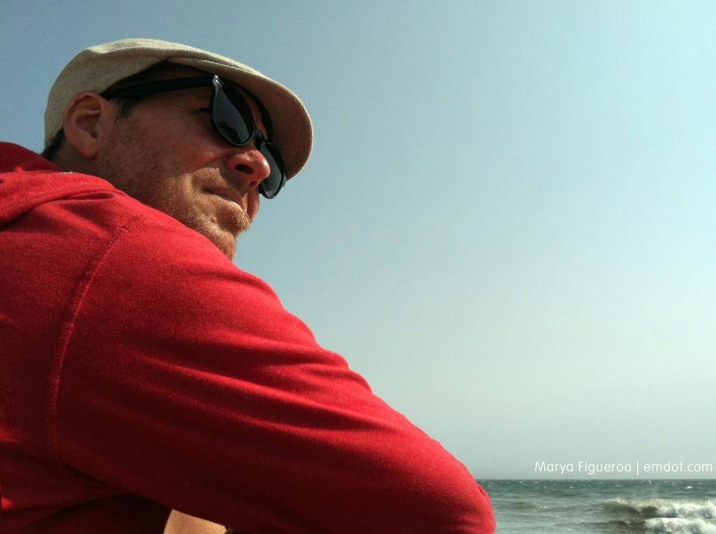 Steve at Pfeiffer Beach