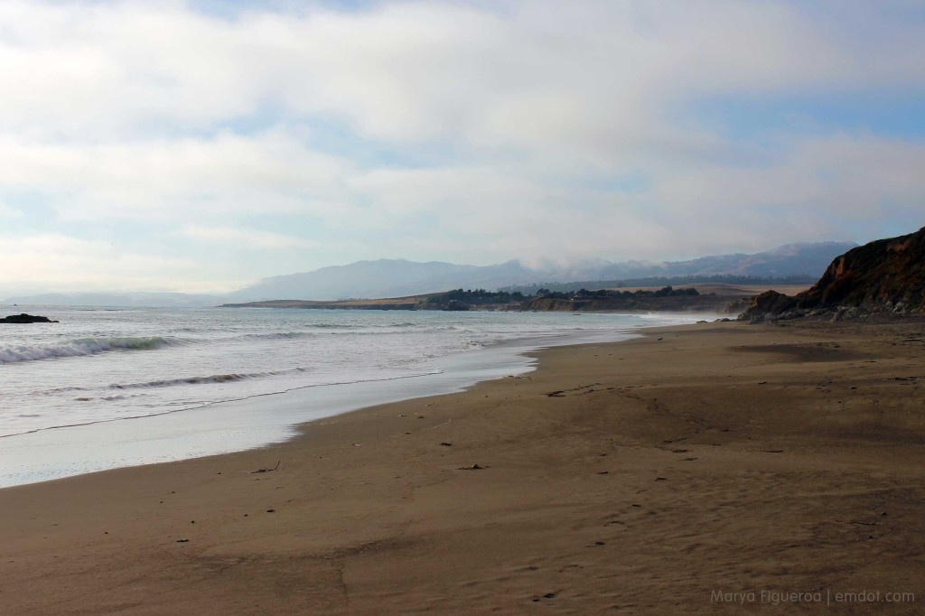 Looking north towards San Simeon