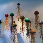 Blown glass jellyfish