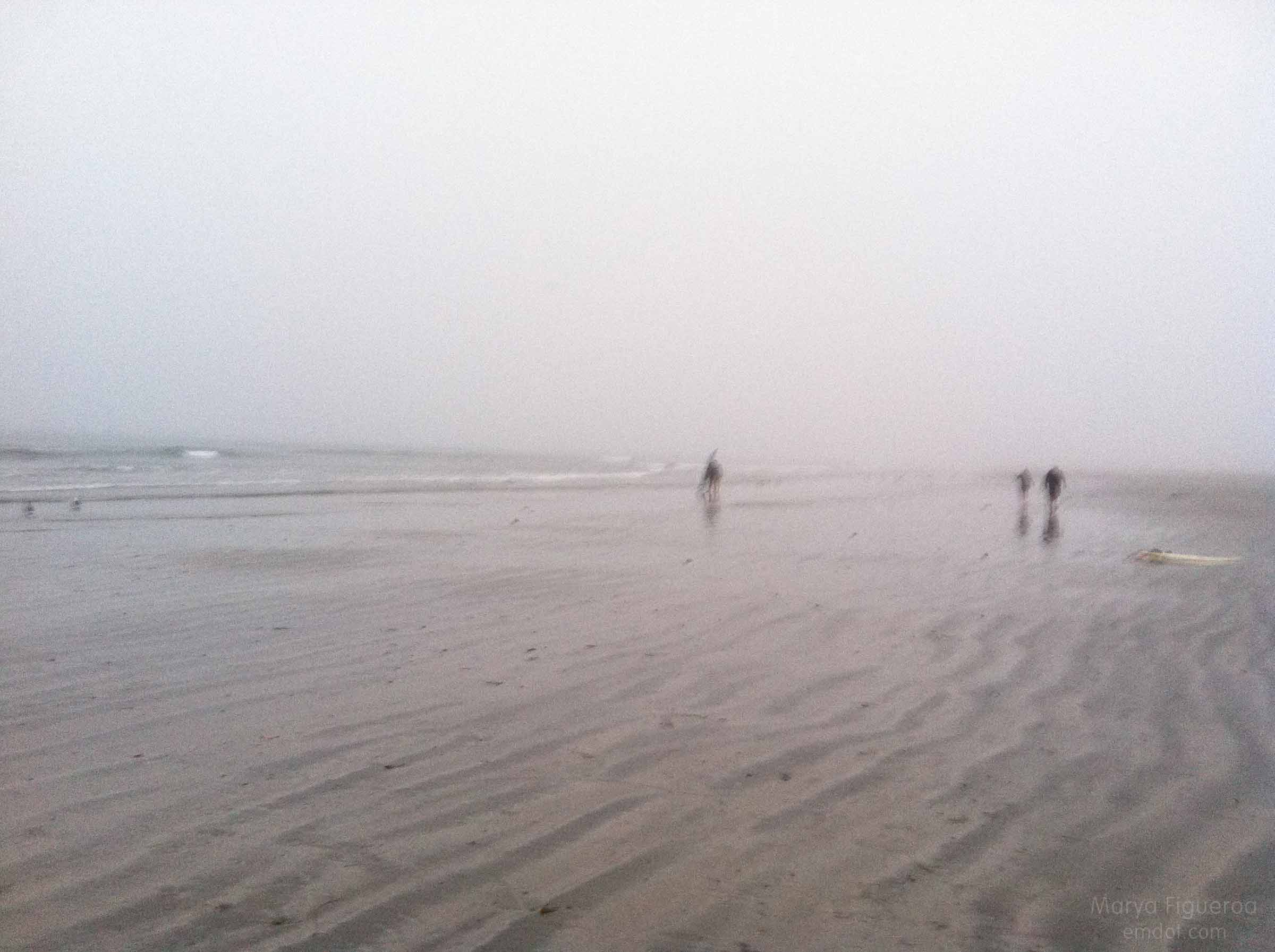 people far away