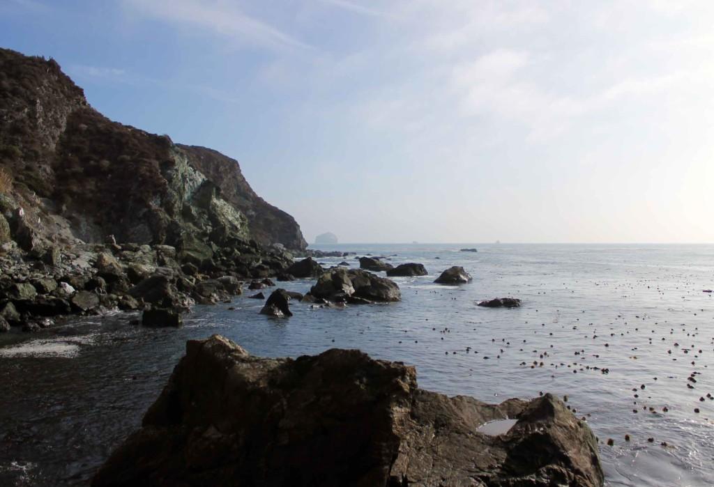 At Jade Cove, looking south
